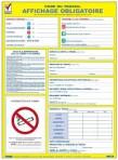 Affichage obligatoire (sur commande)