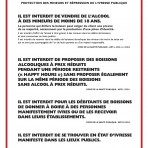 Interdiction mineurs vente sur place